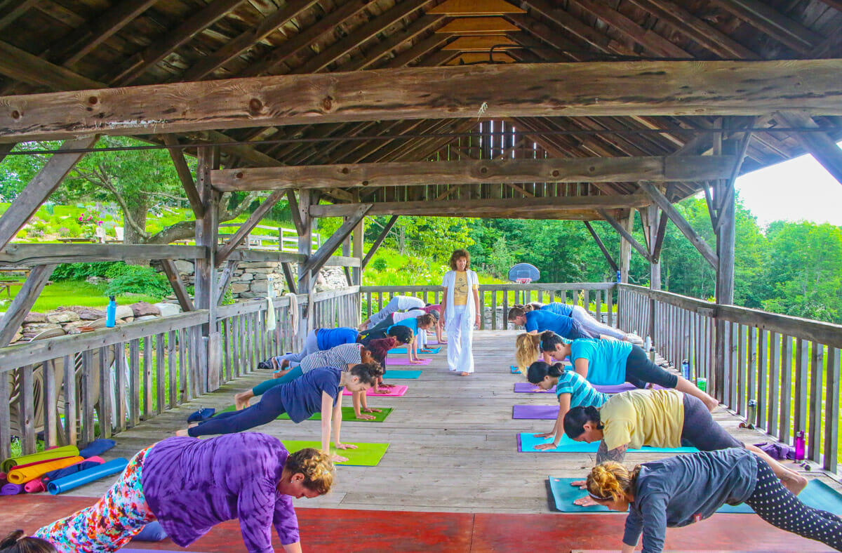 Yoga Immersion Week for Beginners at The Sivananda Yoga Ranch