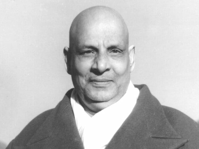 Master Sivananada's Mahasamadhi at the Sivananda Yoga Ranch