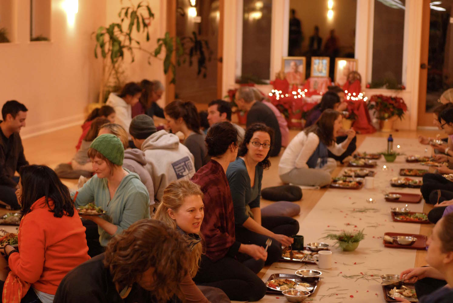 Thanksgiving Celebration: Gratitude at the Sivananda Yoga Ranch
