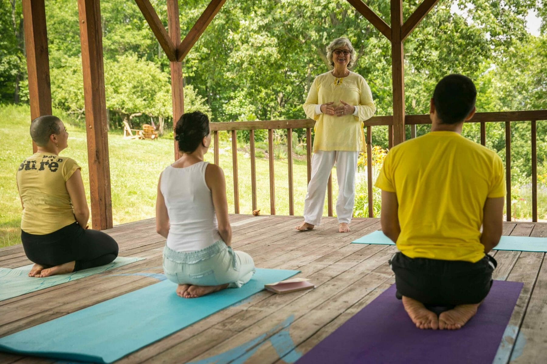 Yoga for Healthy Joints and Bones at the Sivananda Yoga Ranch