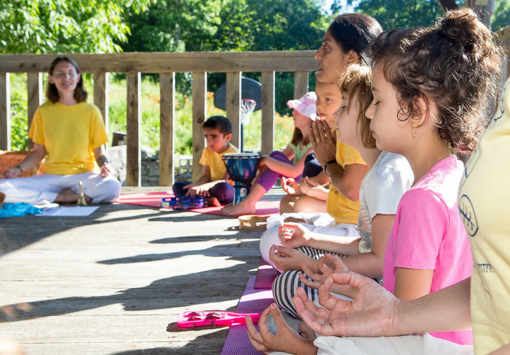 Family Yoga Week at the Sivananda Yoga Ranch