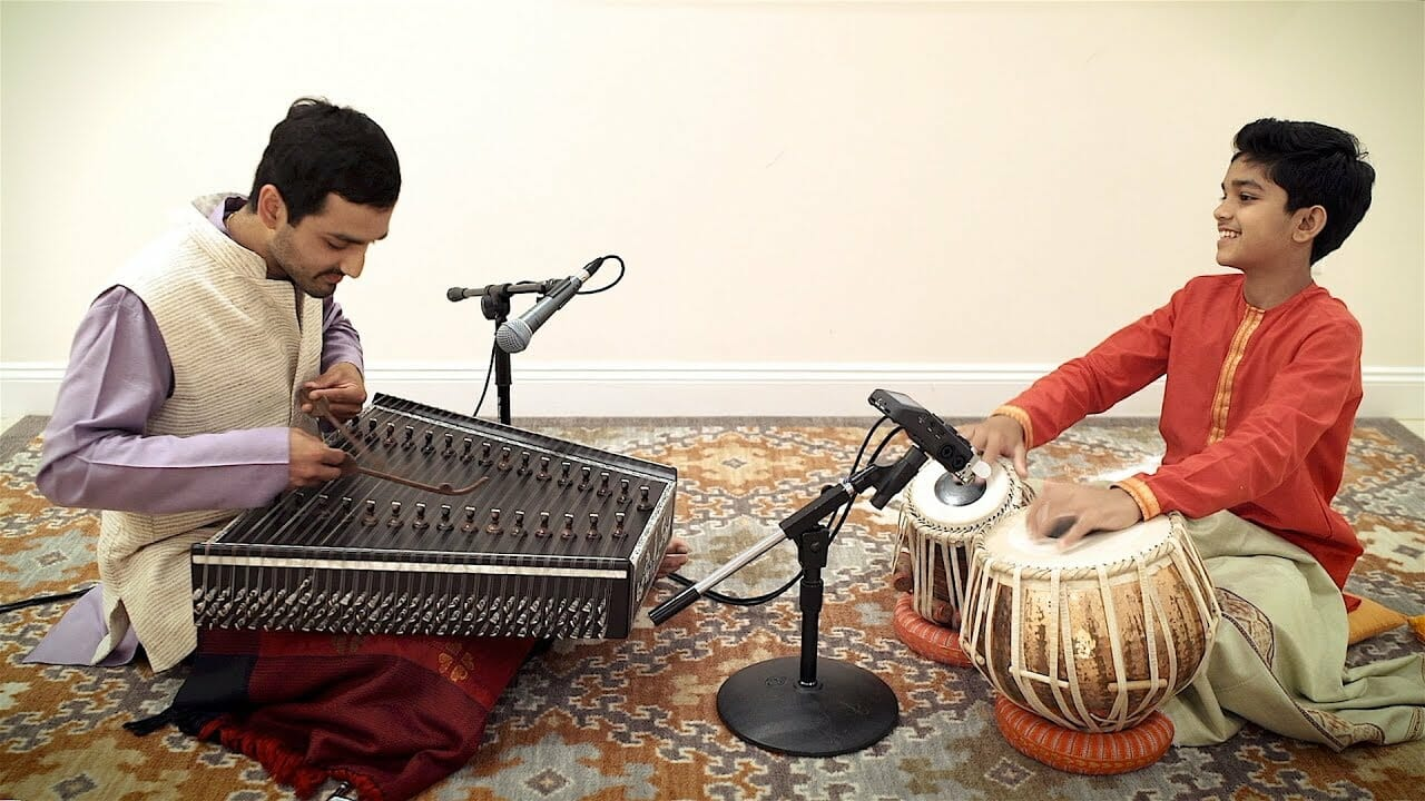 Santoor Concert with Vinay Desai & Vivek Pandya at the Sivananda Yoga Ranch