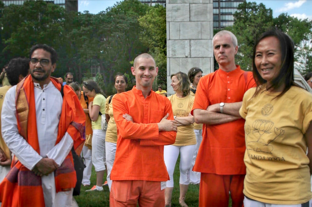 Yoga Day Swami Paramananda