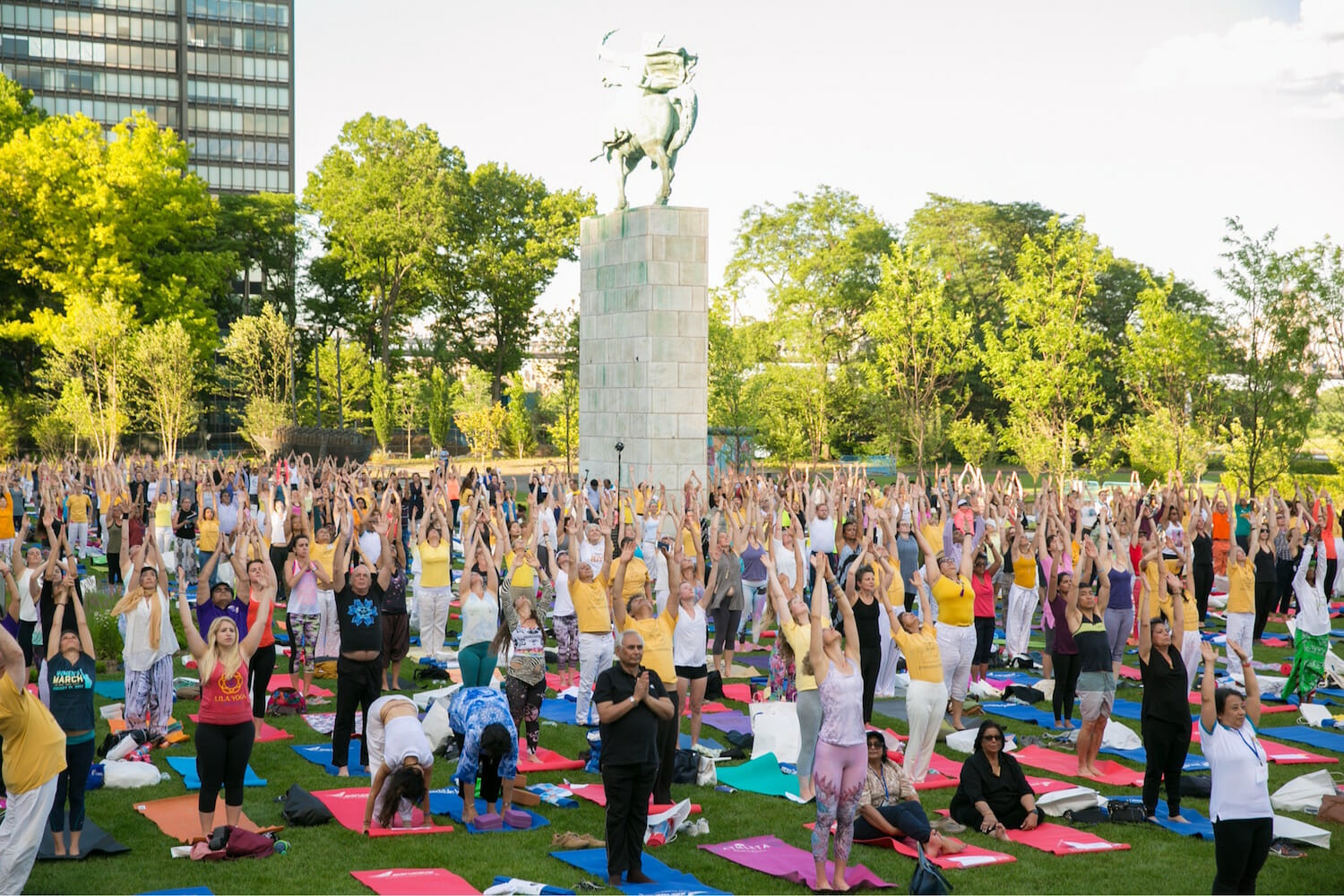 International Day of Yoga at the United Nations, NYC at the Sivananda Yoga Ranch