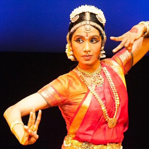 "<div style=""line-height: 1.3; color: #efa110; font-family: catamaran;"">Classical Indian Dance</br> & Music Celebration</span></div>"