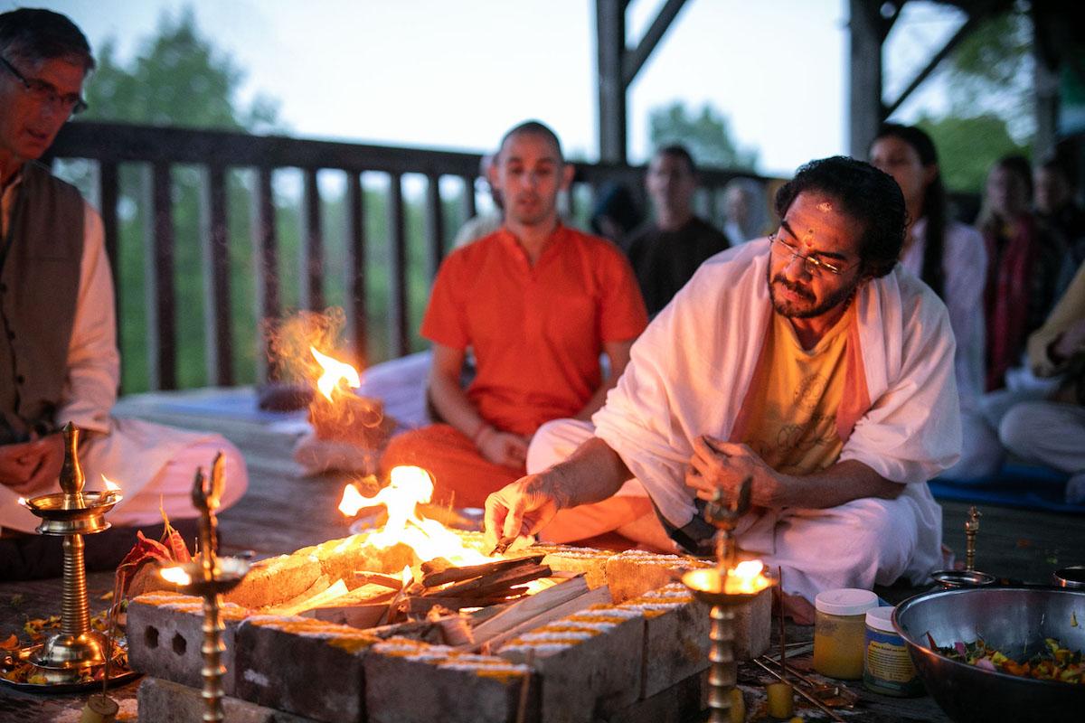 Ramanavami at the Sivananda Yoga Ranch