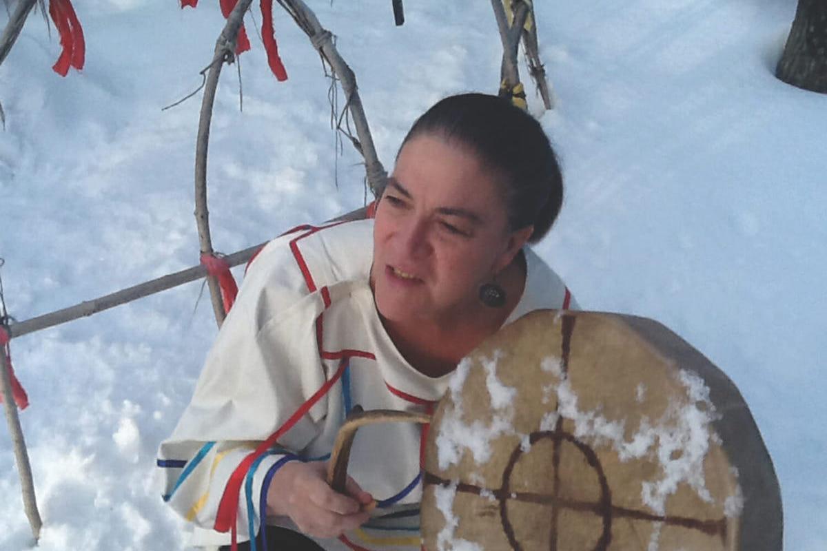 Native American Sweat Lodge at the Sivananda Yoga Ranch
