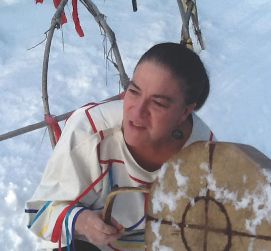 "<div style=""line-height: 1.3; color: #efa110; font-family: catamaran;"">Native American Sweat Lodge</span></br>with Heather Principe</div>"