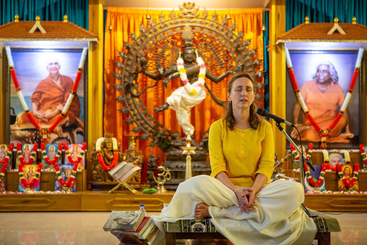 Online Satsang with Saraswati