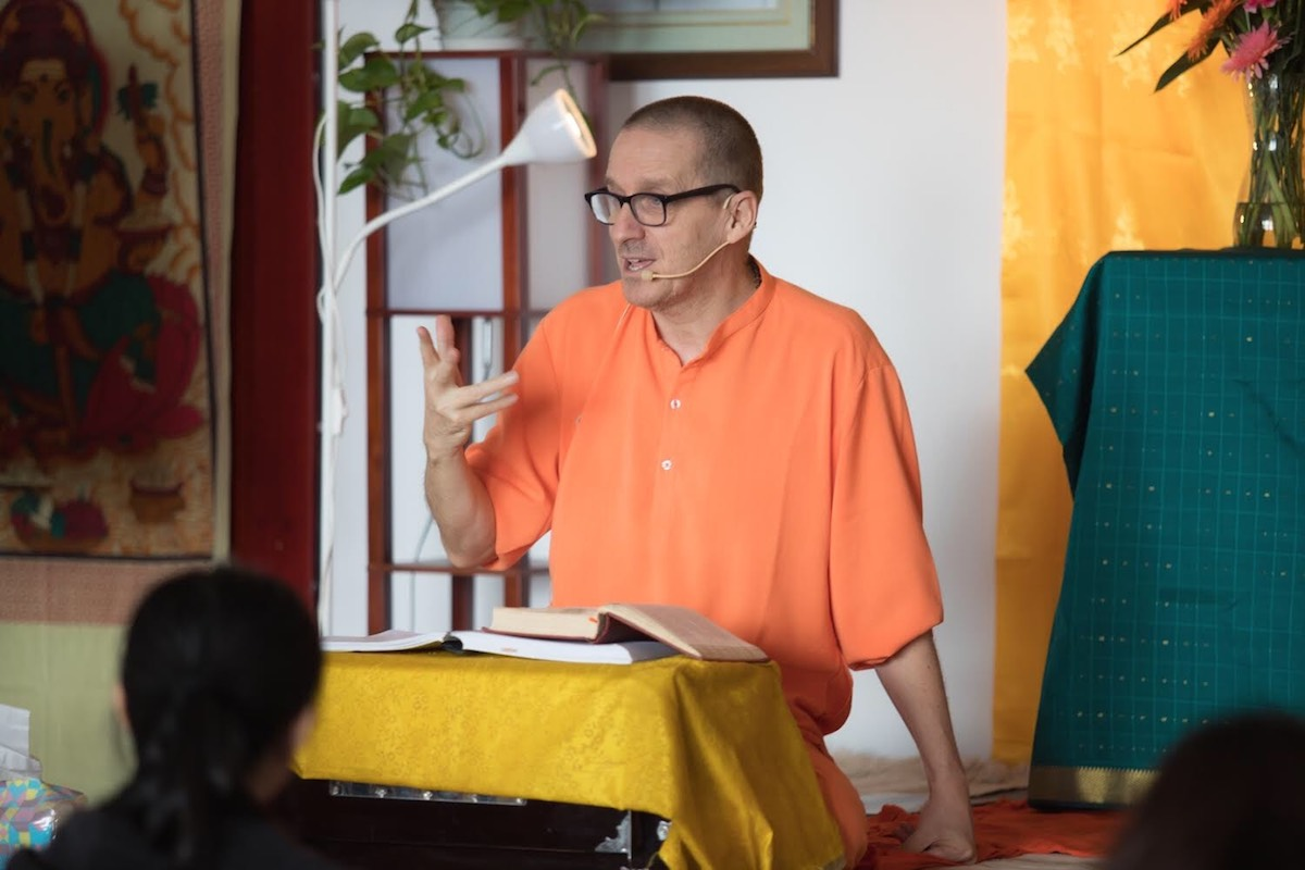 Teachings from the Bhagavad Gita at the Sivananda Yoga Ranch