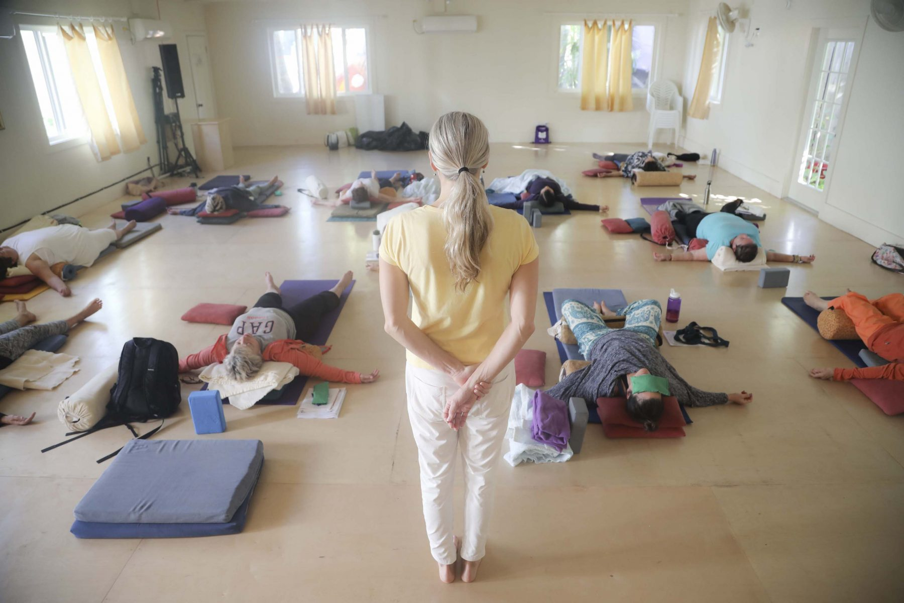 Restorative Yoga Teacher Training Course at the Sivananda Yoga Ranch