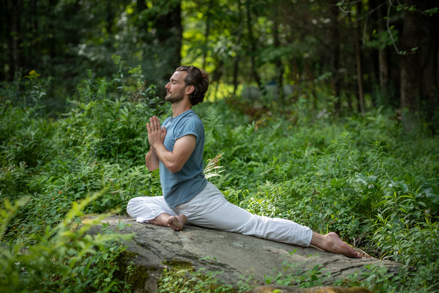 Yoga for Back Care at the Sivananda Yoga Ranch