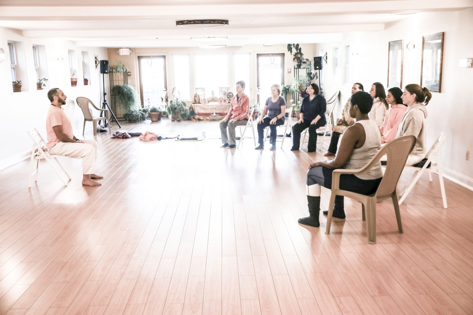 Chair Yoga Training: Learn to Teach Seniors & Those with Limited Mobility at the Sivananda Yoga Ranch