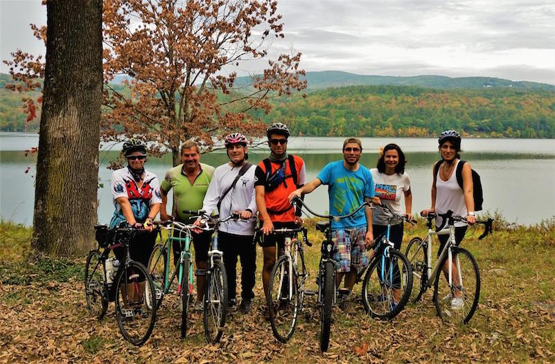 Yoga & Cycling Weekend Retreat at the Sivananda Yoga Ranch