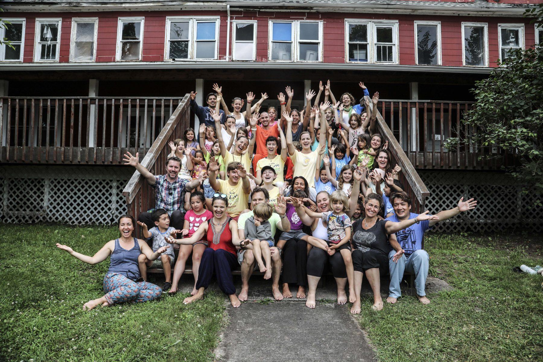 Family Yoga Week at the Sivananda Yoga Ranch