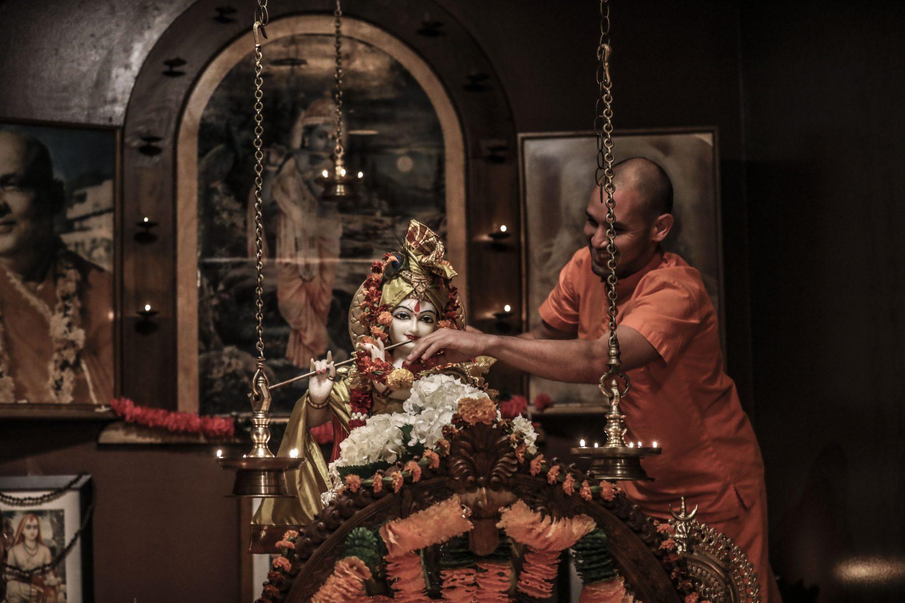 Krishna Jayanti at the Sivananda Yoga Ranch