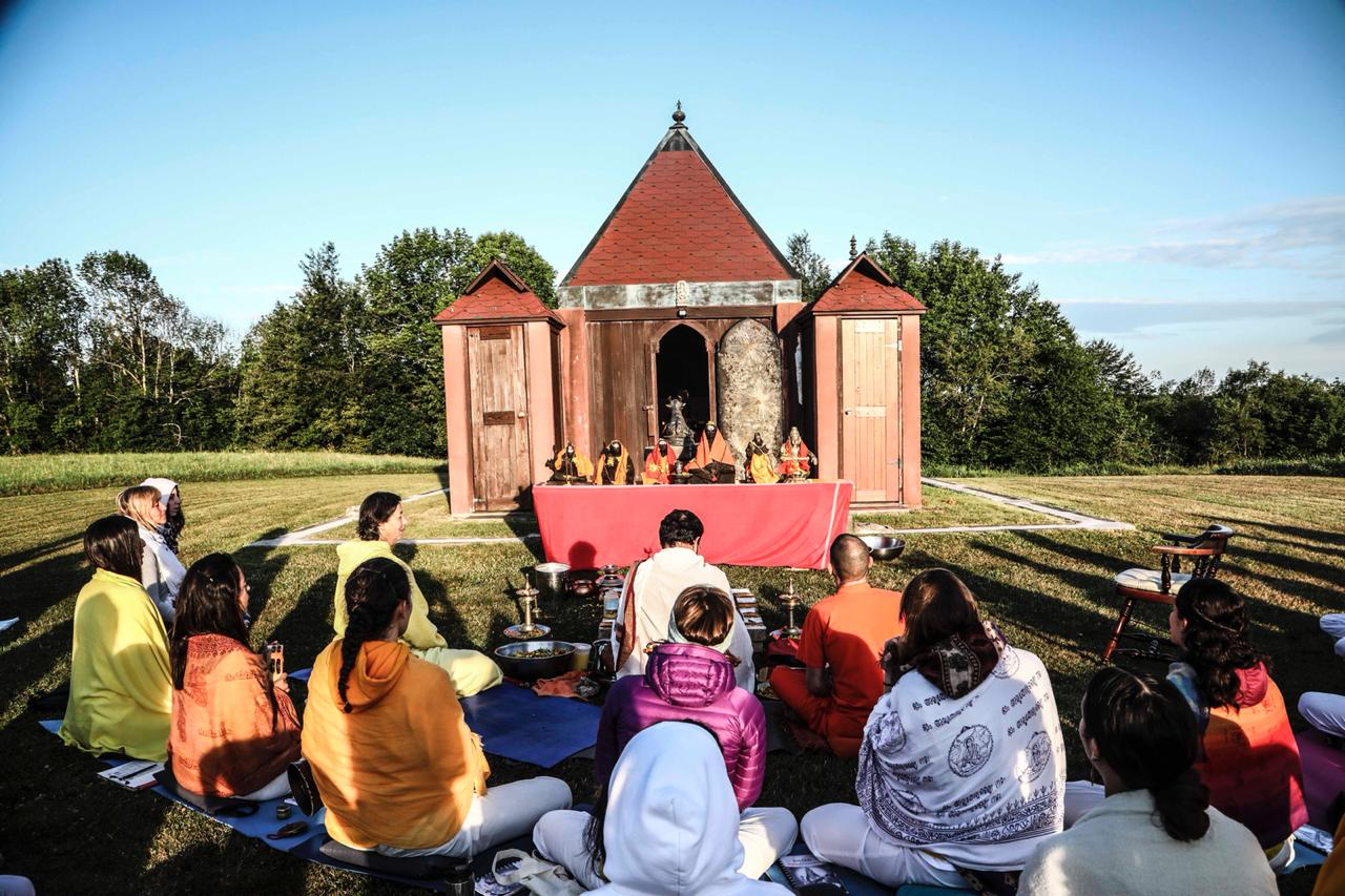 Guru Purnima at the Sivananda Yoga Ranch