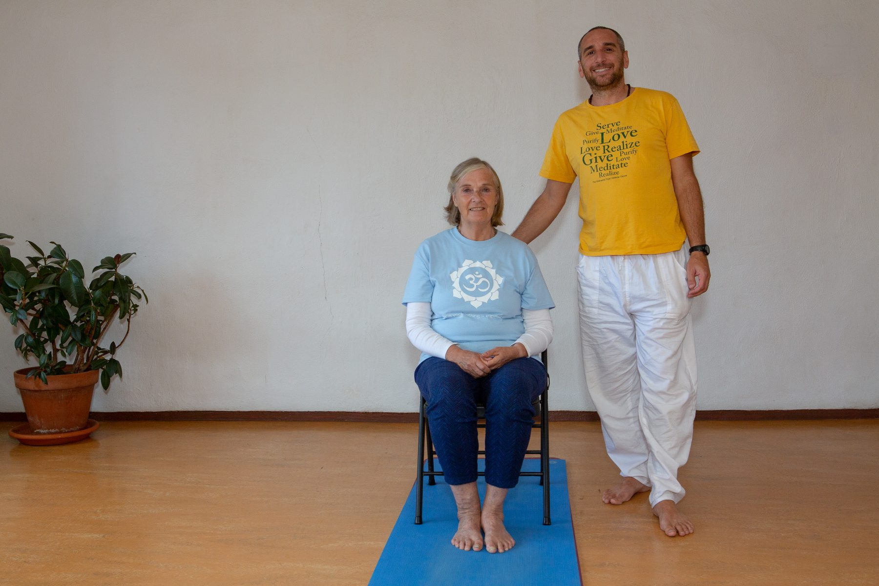 Chair Yoga Class with Anjaneya Special Class for Mothers Day