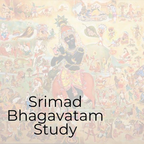 "<div style=""line-height:1.3; color: #efa110; font-family: catamaran"">Srimad Bhagavatam Study</div>"